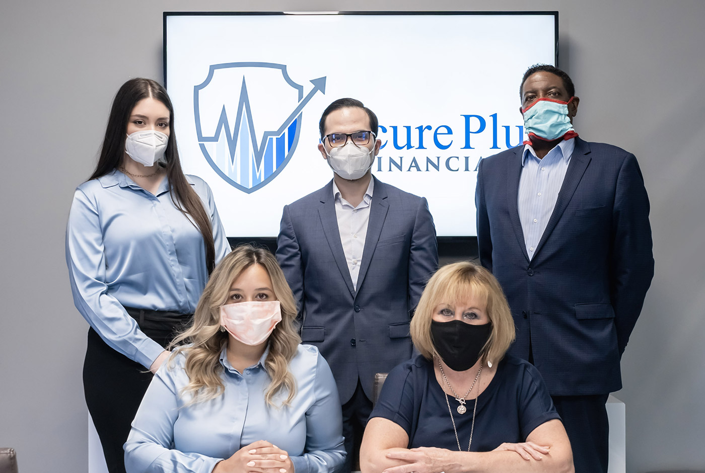 The Secure Plus Financial Team Attending a Business Consulting Services Meeting